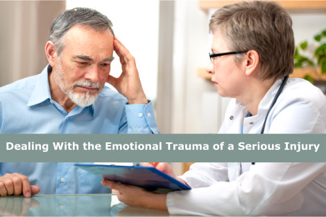 Dealing With the Emotional Trauma of a Serious Injury