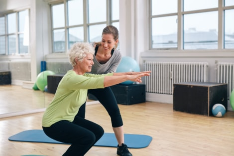 Physical Therapy Exercises for Seniors after Hip Replacement